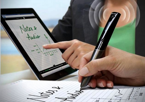 Már okostoll is létezik: amit a papírra írsz vele, rögtön megjelenik az előzőleg wifin keresztül csatlakoztatott eszköz képernyőjén.