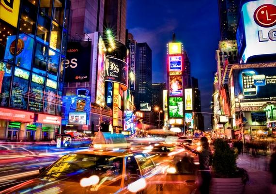 New York fényei. Kattints a nagyobb felbontású képért! »