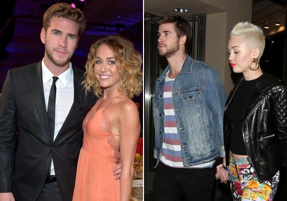 Liam két évig volt együtt Miley Cyrusszal, akivel egy ideig jegyben is jártak, majd 2013 szeptemberébenvégleg szakítottak.