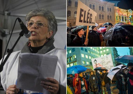 Miskolcon tüntettek a pedagógusok az oktatási rendszer ellen. A demonstrációval egy időben szolidaritásból tüntetést tartottak Pécsett és Budapesten is.
