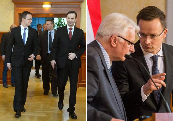 Szijjártó Péter a héten először a horvát külügyminiszterrel, Miro Kovaccsal, majd a lengyel külügyminiszterrel, Witold Waszczykowskivel találkozott, hogy elősegítse az együttműködést ezen országokkal.