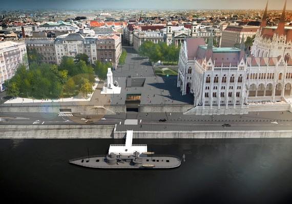 A hétena Kossuth Lajos tér rekonstrukciójának keretében megkezdődtek a parkrendezés munkálatai is. A generálkivitelező, a KÉSZ Zrt. a beteg, menthetetlen fákat és a megújuló tér szerkezetébe nem illeszthető növényzetet távolította el, továbbá folytatta az aszfaltburkolat felmarását.