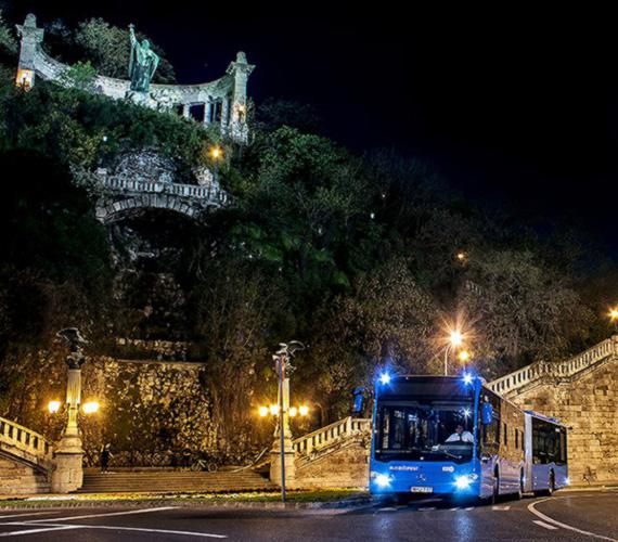 Új BKK-buszokat indítanak több vonalon a fővárosban.