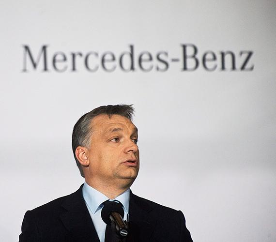 A Mercedes sikertörténet.