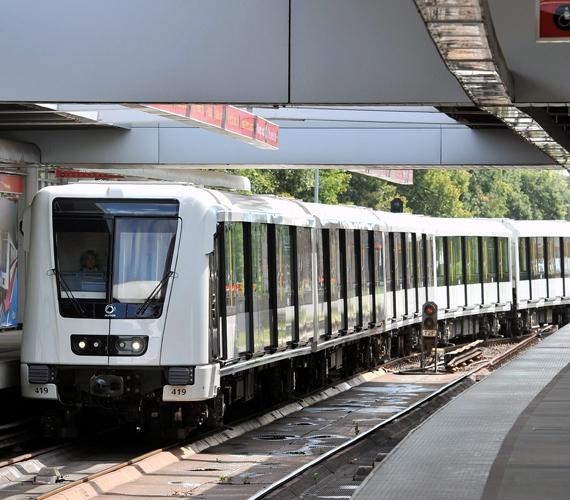 Íme, az új metró.