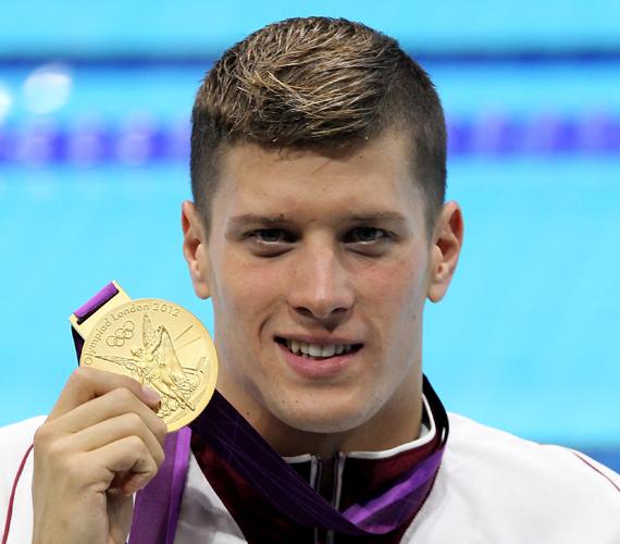 És a vadiúj világcsúcsot felállító Gyurta Dániel a második arannyal. Mindkét sportolónak szívből gratulálunk!