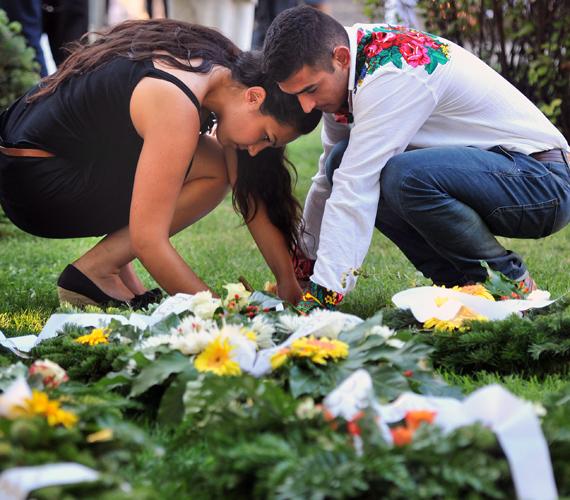A roma holokauszt áldozataira emlékeztek a héten.