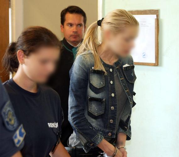 A 35 éves nőt előzetes letartóztatásba helyezték.