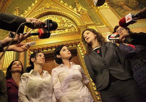 A környezetvédő államtitkár, Illés Zoltán kijelentéseire az ellenzéki pártok női képviselői összefogtak, és együtt nyilvánították ki az államtitkár elleni nemtetszésüket. Fideszes képviselőnőt is hívtak, de ő nem reagált.