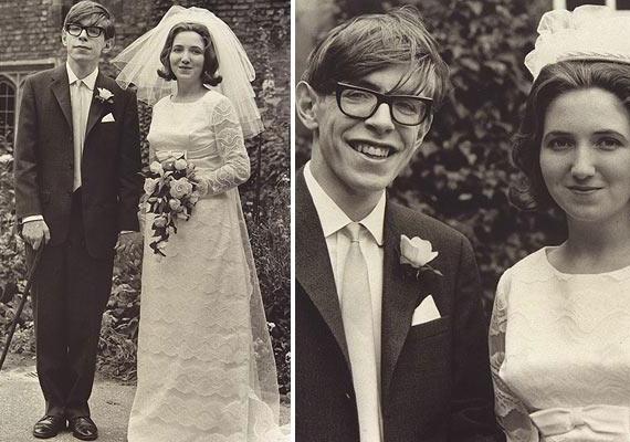Stephen Hawkingot ma már nehéz elképzelni a kerekesszéke nélkül, de 23 évesen, 1965-ben, Jane Wilde-dal kötött házassága idején még jó volt az egészségi állapota, noha már diagnosztizálták nála a motoros neuronbetegséget.