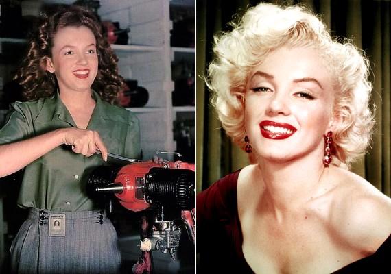 Marilyn Monroe sem volt mindig szőke szexszimbólum.