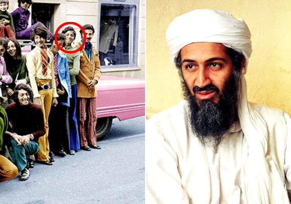 Osama Bin Laden mosolygós fiatal fiú volt.