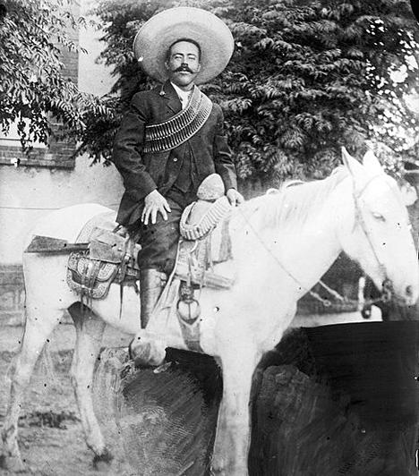 Pancho Villa  Annak ellenére, hogy sokan banditának és gyilkosnak bélyegezték, a mexikói forradalmi vezető a helyiek szemében igazi népi hősnek számít, aki le akart számolni a szegénységgel, és lényeges mezőgazdasági reformokat kívánt végrehajtani. Szintén ő volt a felelős az 1916-os columbus-i rajtaütésért Új-Mexikóban, mely az 1812 óta az első támadást jelentette az amerikai föld ellen.