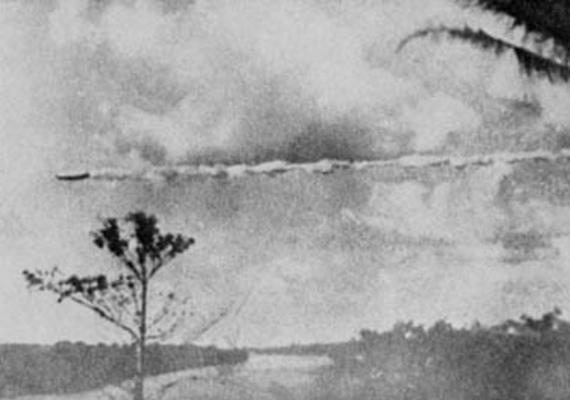 1952-ben Peru és Bolívia között fényképezte le Domingo Troncoso a különös objektumot, ami a férfi állítása szerint rendkívül alacsonyan és furcsa szögben repült.