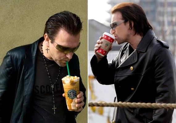 Pavel Sfera a U2 énekesévé, Bonóvá válhatott egy fotó erejéig.
