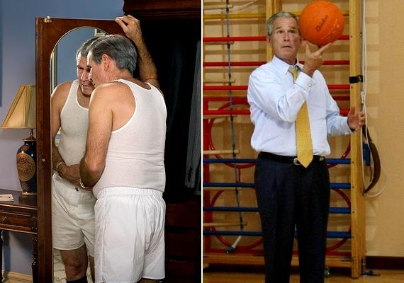 Láttad már fehérneműben az Egyesült Államok egykori elnökét, George W. Busht? Most megtehetedBrent Mendenhall jóvoltából.