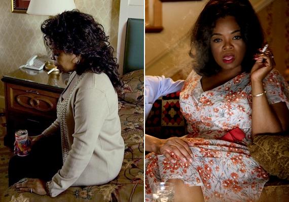 Az Oprah Winfrey-t alakító Caroline Hodge-ról egészen komor hangulatú kép készült.