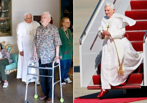Robbie Besent formálta meg XVI. Benedek pápát.