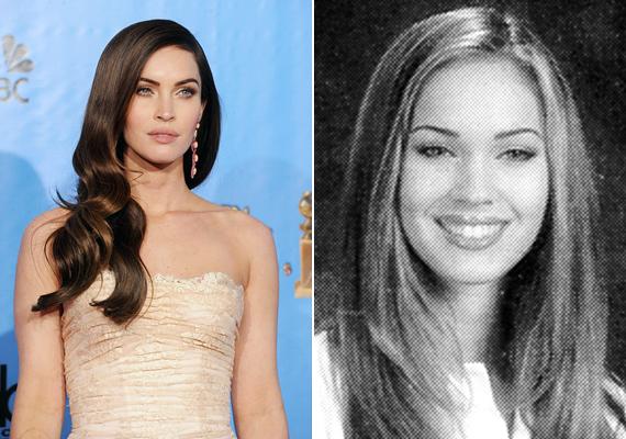 Ugyanez igaz Megan Foxra is, akinek szexi kisugárzása az évek során egyre erősödött.