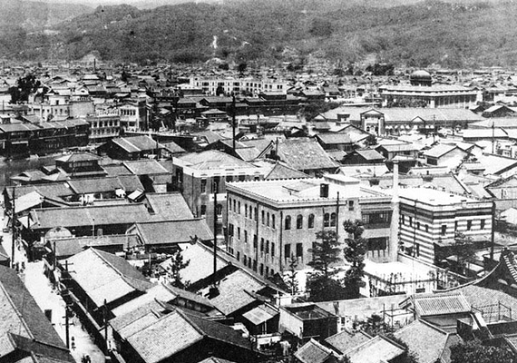 A második világháború kezdetekor, az 1940-es évek legelején Hirosima350 ezres lélekszámú város volt.