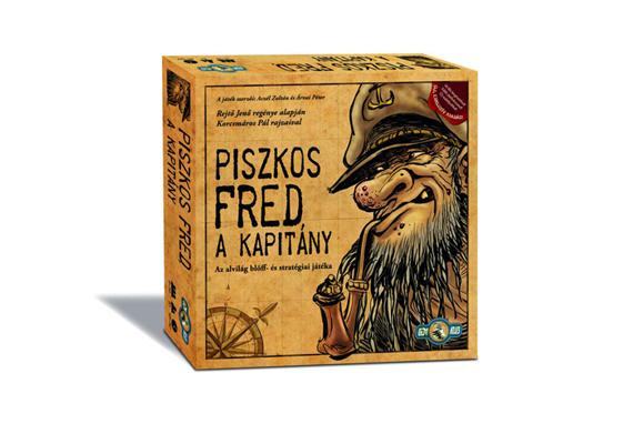 Az alvilág blöff- és stratégiai játéka igazi magyar ínyencség. A Piszkod Fred, a kapitány az a társasjáték, ami garantáltan nevetésre késztet.
