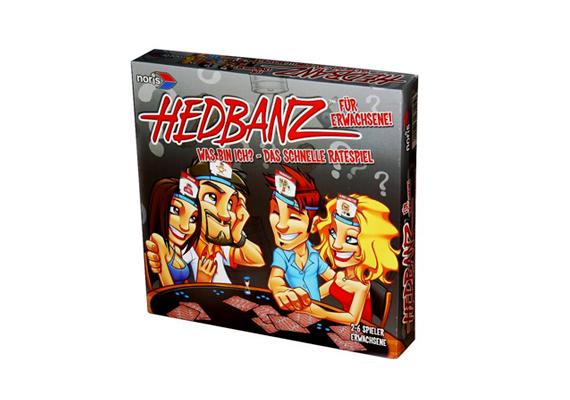 A népszerű Hedbanz játék célja, hogy kitalált, mit vagy kit tűztek a fejedre. Plusz pont, hogy te is készíthetsz rajzokat, így akár Brad Pitt is bekerülhet a társaságba.