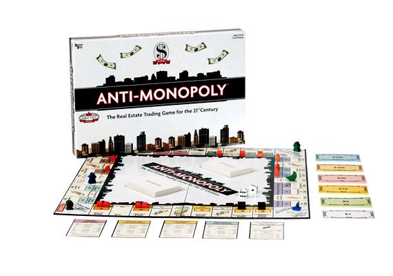 Az Anti Monopolyban a monopolhelyzetben lévő vállalkozásokkal veheted fel a versenyt.