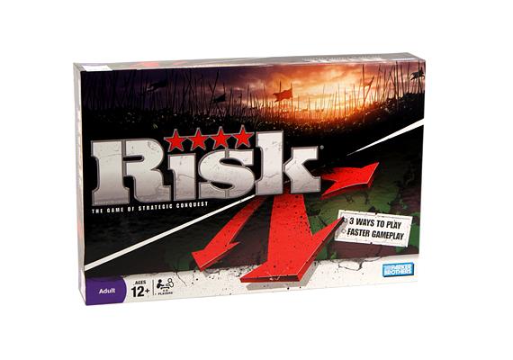 Minden idők legkedveltebb stratégiai játéka, a Rizikó máig előkelő helyet foglal el a társasjátékok piacán.