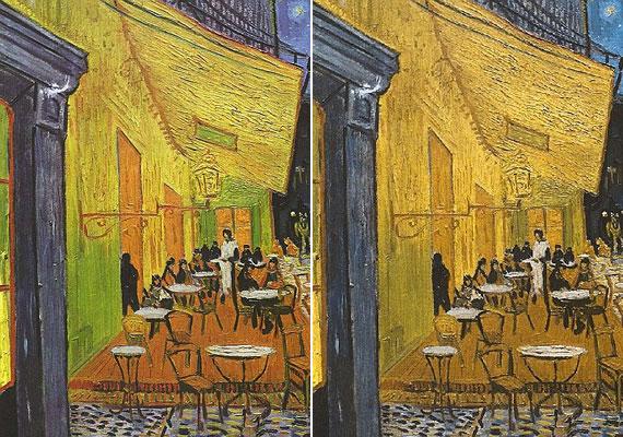 Némely festménye a manipulálásnak köszönhetően a színtévesztők, illetve színvakok szemével nézve kidolgozottabbá, valóságközelibbé válik.