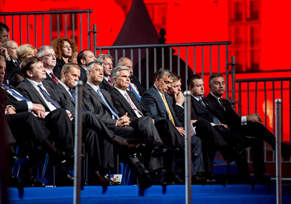 A magyar miniszterelnök hangsúlyozta, hogy Magyarország mindig a horvát csatlakozás pártján állt, és töretlenül megpróbálta meggyőzni azokat, akik ellene voltak.