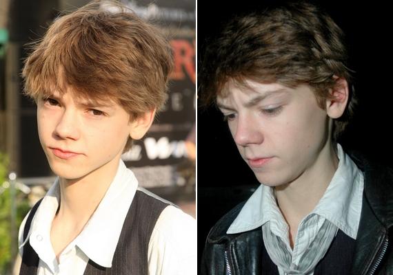 Thomas arcvonásai szinte semmit sem változtak, már tinédzserként is majdnem úgy nézett ki, ahogyan most.