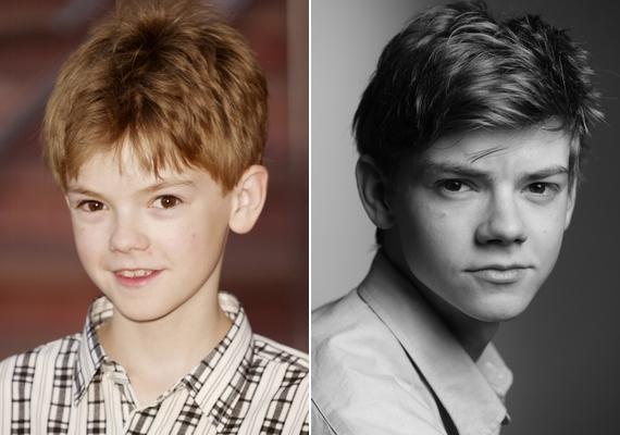 Régen és most: ilyen volt Thomas gyerekszínészként, és ilyen fiatal felnőttként.