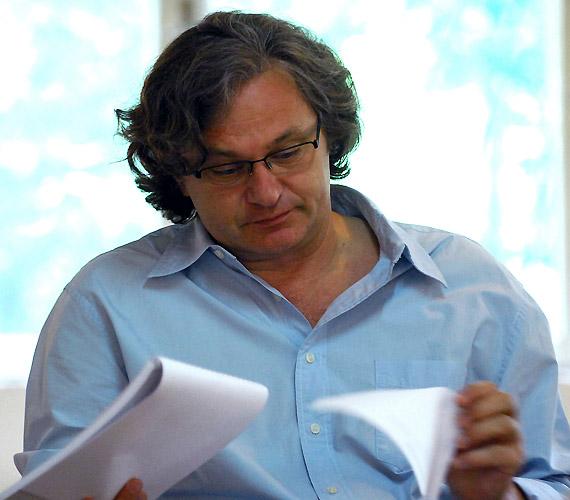 Rátóti Zoltán izgatottan várja az újszerű próbafolyamatot.