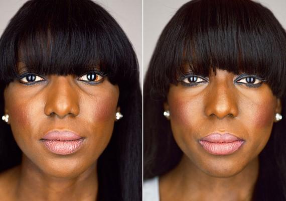 Bár szemük, orruk és szájuk mérete sem egyforma, nehéz lenne megkülönböztetni Danielle és Chantelle Dwomoh-Pipert.