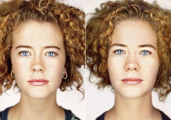 Marta arcának jellegzetességei Emma vonásaiban is mind fellelhetők.