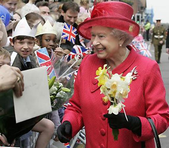 II. Erzsébet 80. születésnapját ünnepli 2006-ban.
