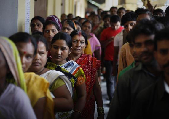 Az indiai szavazók 70-80%-a 35 évesnél fiatalabb.