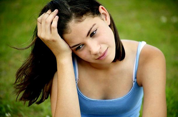 Tini lány kép