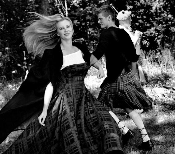 A 17 éves modell nagyon jól érezte magát a munkálatok során.