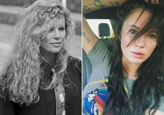 A másik fő napirendi téma az volt, hogy a kommentelők szerint Ireland kevésbé szép, mint az anyukája, Kim Basinger színésznő volt fiatalon.