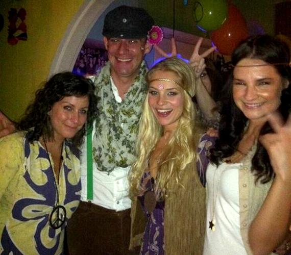 Tavaly igazi hippibulit rendeztek a műsorvezetőnek.