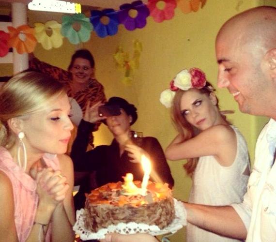A műsorvezető és szerelme, Dobrády Ákos több mint egy éve együtt vannak.