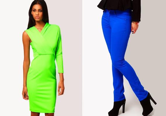 Jobb, ha megválsz a túlságosan, szinte már bántóan rikító színű ruháktól, mert bár feltűnőek, nem biztos, hogy a jó értelemben.