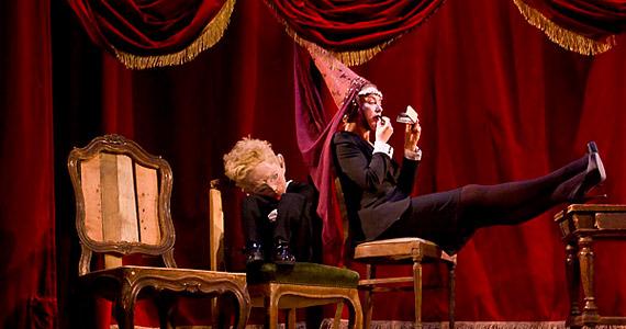 Für Anikó János király sógornőjét, Konstanciát játssza a darabban.
