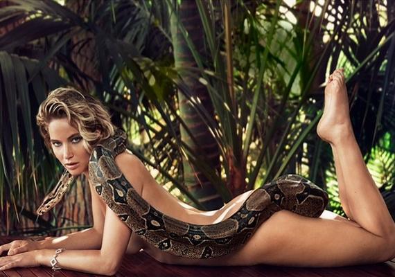 A 24 éves színésznőről készült merész fotó a Vanity Fair márciusi számában jelenik majd meg.