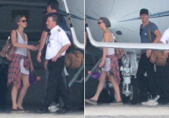 Ezek Jennifer és Chris első közös fotói, amin párként szerepelnek.