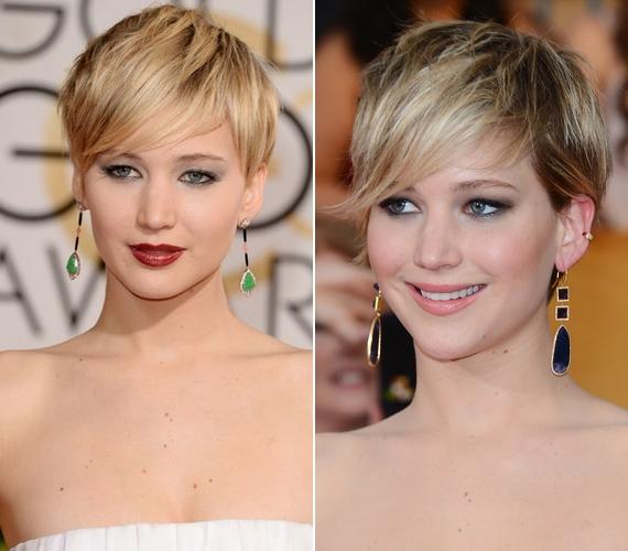 Ilyen Jennifer, ha ki van festve: még így is törekszik a természetességre.