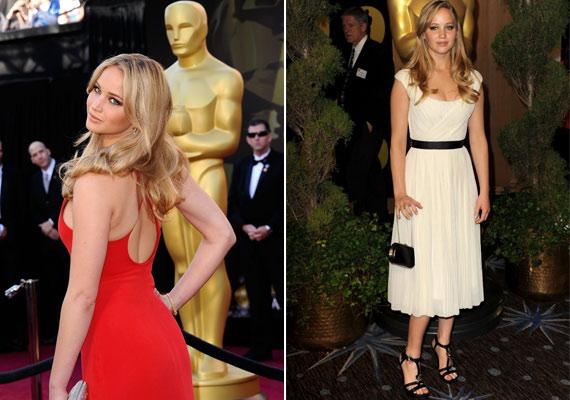 Jennifer mindig büszke volt az alakjára, a tavalyi Oscar-gálára egy dögös piros, az ideire pedig egy fehér ruhát választott - mindkettő kiemelte az idomait.