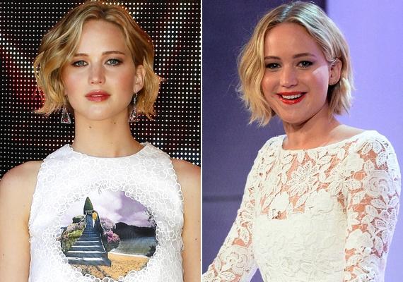 Bár Jennifer már megnövesztette a haját, az arcvonásaik még így is feltűnően hasonlítanak.