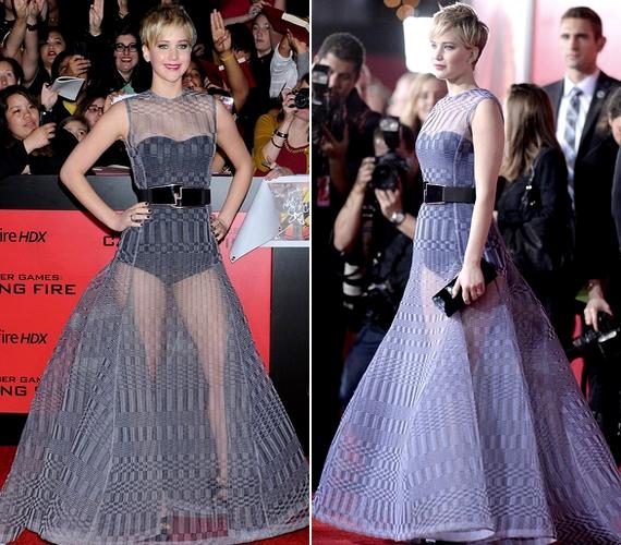 Az amerikai premieren a színésznő új frizurája is másként volt szárítva, mint a többi alkalommal.